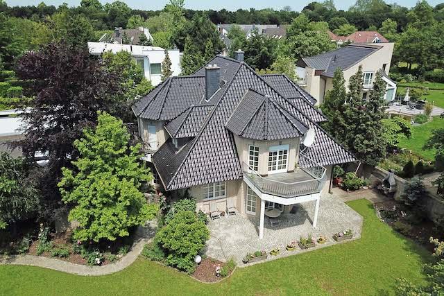Drohnenbild Immobilie